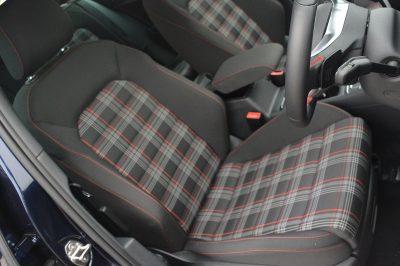Tkaniny VW GTI/GTE/GTD
